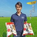 【ふるさと納税】一等米 無洗米はえぬき 5kg×2袋 計10...
