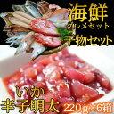 【ふるさと納税】海鮮グルメセット(干物詰め合わせ&いか辛子明...