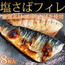 【ふるさと納税】■国産塩さばフィレ8枚入(真空パック入) 鯖...
