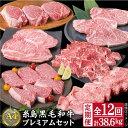 【定期便】A4ランク福岡県産糸島黒毛和牛プレミアムセットを毎月1回合計12回でお届け
