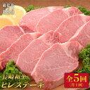 【ふるさと納税】FB05 【全5回定期便】長崎和牛ヒレステーキ180g×8枚 総計7.2kg