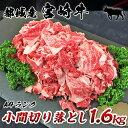 【ふるさと納税】都城産宮崎牛小間切り落とし1.6kg - 最...