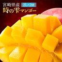 【ふるさと納税】【数量限定】「時の雫マンゴー」2Lサイズ2個...