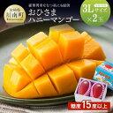 【ふるさと納税】「おひさまハニーマンゴー」3Lサイズ2個入り...