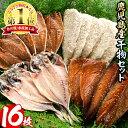 【ふるさと納税】鹿児島県産!干物など詰め合わせ<4種>鯵(アジ)、鯖(サバ)など干物11枚にいわしフ