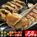 【ふるさと納税】鹿児島県産黒豚餃子(2種・計54個)黒豚餃子...