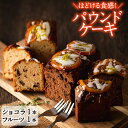 【ふるさと納税】鹿児島県産焼酎原酒を使用したパウンドケーキ2...