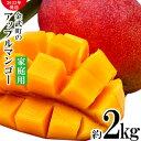 【ふるさと納税】【2022年発送】農家さん直送!アップルマンゴー約2kg 家庭用