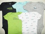 【あす楽】カーターズ(Carter''s) 赤ちゃん用肌着 柄物 半袖 肌着に最適! レビューを書いたら& 新生児用ボディスーツ・ロンパース・肌着・ボディースーツ バラ売り(単品)