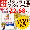 全国送料無料 ポップコーン豆バタフライタイプ 22.68kg ( 約1130人分 ) KING