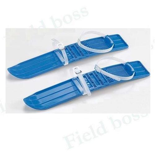 ミニスキー45cm雪遊びスキースキー遊びスキー子供用おもちゃショートスキーベルト式スキー板そりソリ(