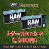 スラセンジャー[Slazenger] RAW DISTANCE GOLF BALL【2ダースセット(合計36個入り)】【あす楽対応】