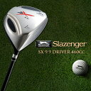 ゴルフクラブ ドライバー スラセンジャー ドライバー[Slazenger] SX9.9 DRIVER 460cc 専用ヘッドカバー付き【単品販売】直進性、飛距離性能を追求【あす楽対応】
