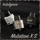 【 電子タバコ VAPE 】【リビルダブルアトマイザー】【 RBA 】【 RDA 】【 ドリッパー 】 【 ミューテーションエックスエス 】Unicig Indulgence Mutation XS