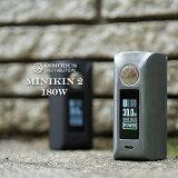 【電子タバコ VAPE 】【 ASMODUS アスモドス アスモダス ミニキン 】【 MINIKIN2 】【 バッテリー2本タイプ 】【 designed by USA 】 ASMODUS Minikin V2 180W Touch Screen Mod 本体