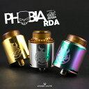 【 バンディーベープ フォビア 】【 ボトムフィーダー 対応 】【 ドリッパー 】【 RBA 】【 RDA 】 【 直径 24mm 】【 VANDY VAPE 社製 アトマイザー 】 PHOBIA RDA