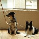 【犬 リード】革 犬用品 ヌメセパレートリードM リ−ド 皮