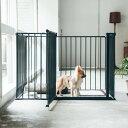 スチール製 Scandinavian Pet Design小型・中型犬用サークル 6枚セットスカンジ...