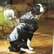 シャイニーレインコート【犬の服】