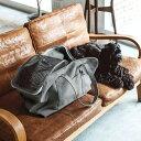 犬 キャリー スクエア トート ハンプ ソリッド LL サイズ 犬ペット用品 愛犬用 ブラック カーキ 中型犬用 お出かけバッグ キャリーバッグ