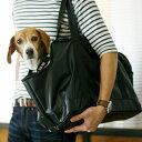 【犬 キャリーバッグ】スクエアトート ターポリン Lサイズ 中型犬用 キャリーバック carry bag free stitch