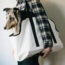 【犬 キャリーバッグ】スクエア トート ターポリン LL サイズキャリー/キャリーバック/キャリーケ...