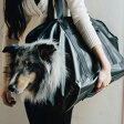 【犬 キャリーバッグ】スクエアトート ターポリン LLサイズ 中型犬用 キャリーバック carry bag free stitch