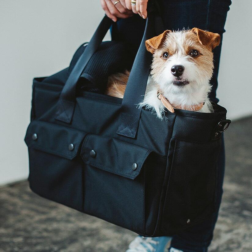 小型犬キャリーバッグ free stitch バルコディキャリー L 【送料無料】【犬 キャリーバッグ】Ballistic Nylon Cordura 1680D carry bag 愛犬喜ぶ自立式キャリー、高機能な犬用ナイロンキャリーバッグでお出かけしよう