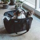 【犬 キャリーバッグ】バルコディスクエアトート Sサイズ キャリーバック carry bag free stitch