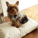 【犬 ベッド】涼しげな色合いのベット ウォッシャブルリネンベッド S