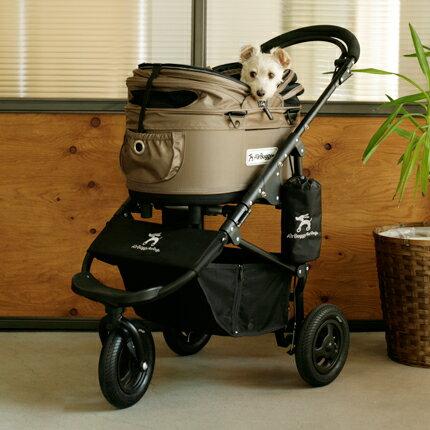 Air Buggy for Dog エアバギーフォードッグ ブレーキモデルドーム2セット SM エアバギー 犬 カート AirBuggy 犬 カートスムーズな動きでラクラク移動!