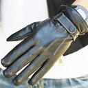 手袋 メンズ レザー 防寒 ビジネス 本革手袋 グローブ 皮...