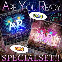 【世界の大型EDMフェスMIX 2枚セット!!】DJ A-KEY / ARE YOU READY VOL.3&4 SPECIAL SET[AKSET-01]