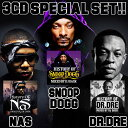Artist Name: D - 【SNOOP DOGG、NAS、Dr. Dreのベストセット!!】DJ DASK / HISTORY OF SNOOP DOGG、NAS、Dr. Dre SPECIAL SET[DKHOSET-02]