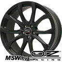 タイヤはフジ 送料無料 ボルボ(V40) MSW by OZ Racing MSW 48(マットブラック) 6.5J 6.50-16 DUNLOP ルマン V(ファイブ) 205/55R16 16インチ サマータイヤ ホイール4本セット 輸入車