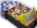 【送料無料】引き出し貼り箱(中)(巾着あられ4袋・花ごのみ1袋)×20セット引き出し貼り箱(... ...