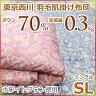東京西川 西川 洗える 羽毛肌掛け布団(ダウンケット) ホワイトダウン70% MD6020A シングルサイズ【05P23Apr16】