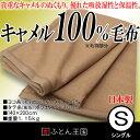 キャメル毛布 シングルサイズ 日本製 cam2017