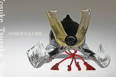 「ガラスの兜 黒」兜・端午の節句・五月人形・節句・5月5日・販売・通販・お祝い・ギフトプレゼントに