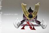 「ガラスの兜 紫」兜・端午の節句・五月人形・節句・5月5日・販売・通販・お祝い・ギフトプレゼントに
