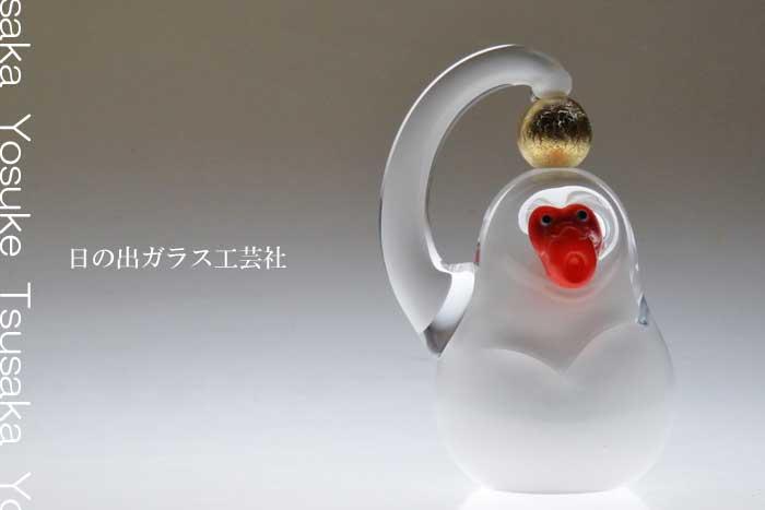 「申の干支(金の毬)」干支の申の置物 2016年干支 申年 猿の置物の販売・通販 ガラスオブジェ・風水・水晶