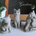 ガーデニング オーナメント 「 キャット 3タイプ 」 ネコ 猫 cat ガーゴイル イギリス 置物 オブジェ 童話 動物 Hampshire Garden Craft ドラゴンストーンシリーズ イングリッシュガーデン 庭好き 笑顔