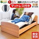 介護ベッド 電動ベッド電動 1モーター ベッド ケア1-GK...