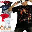 GENJUブランド トライバル Tシャツ メンズ レディース Tシャツ ロングTシャツ 長袖/半袖 XS/S/M/L/XL/XXL/XXXL 2L/3L/4L ストリート系 ロック系 竜 龍 ドラゴン ファイナルファンタジー 剣 サイズ Dragons Crest02P23Apr16
