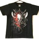 ショッピング 【GENJU】【激安・特価・処分品】【メンズ半袖Tシャツ】【スカル 骸骨 斧 武器】【XSサイズ】【サンプル/お試し/B級品】