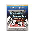 キャッシュレスポイント還元対象/【手品 マジック】 プレストプリント ダロー Presto Printo  カード、DVD、英語解説書、翻訳説明書付