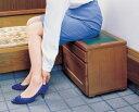 玄関に、靴を履いたり、荷物を置いたり、スッキリ収納!【送料無料】総桐便利いす!チェスト!0...