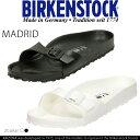 ビルケンシュトック レディース サンダル BIRKENSTOCK MADRID EVA サイズ/36/37/38 幅狭 白 黒