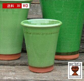 花盆和兵馬俑 graysdrongtom 直徑 14 釐米大小 Whichford 陶器釉面 Longtom WF-1243gl 英國聯合王國渴望的福特 /Whichford,陶瓷碗