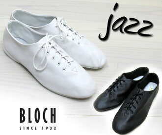 "Products perfect for the long-awaited restocked ★ popular items * spring white shoes * stock Ballet established BLOCH bloch jazz block Jazz ' ' race up shoes ""lace-up shoes 2 color unisex"